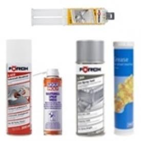 Spray, Wartung & Schmierstoffe