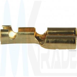 Crimpverbinder 6,3mm mit Rastnase