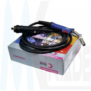 MB25, 5m Binzel Abicor Schutzgas Schlauchpaket MIG / MAG