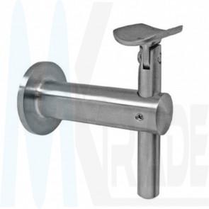 Wandhalter verstellbar, flexibel, Handlauf Ø 42,4mm