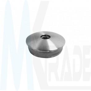 Edelstahl Endkappe 48,3mm, M8