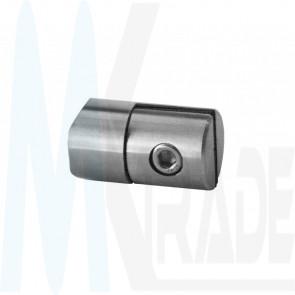 Plattenhalter/ Blechhalter, Anbau Ø42,4mm