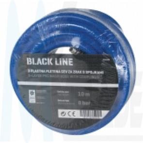 Black Line PVC-Schlauch mit Kupplung 9x15mm, 10m