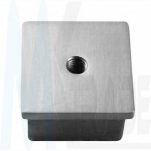 Edelstahl Endkappe 50x50 M8