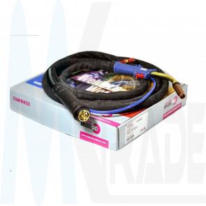 Binzel Abicor Schutzgas Schlauchpaket MIG / MAG MB501, 4m, wassergekühlt