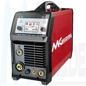 MK Welding MULT-GMAW 200P AC/DC PFC LCD