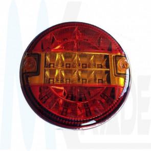 LED Rücklicht, rund, 20 Led's, 10-30V, ECE R65