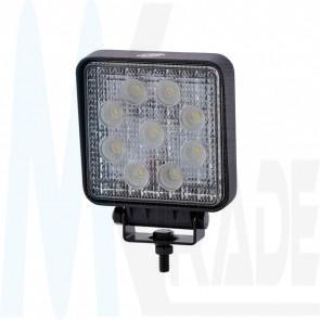 LED Arbeitsscheinwerfer, 27W, 2200lm, 60°, 10-30V, ECE R65