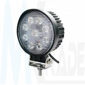 LED Arbeitsscheinwerfer, 27W, 1700lm , 60°